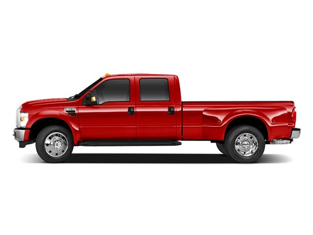 Vermillion Red 2010 Ford Super Duty F-450 DRW Pictures Super Duty F-450 DRW Crew Cab Lariat 2WD T-Diesel photos side view