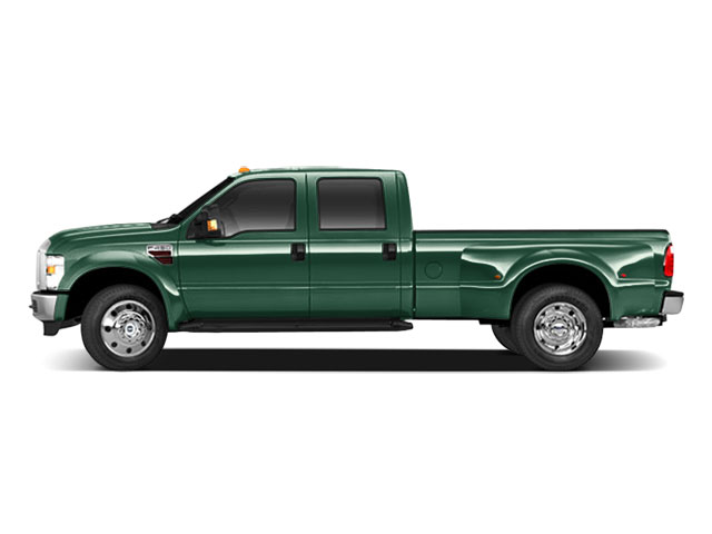 Forest Green Metallic 2010 Ford Super Duty F-450 DRW Pictures Super Duty F-450 DRW Crew Cab King Ranch 4WD T-Diesel photos side view