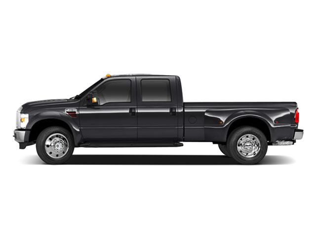Black 2010 Ford Super Duty F-450 DRW Pictures Super Duty F-450 DRW Crew Cab King Ranch 4WD T-Diesel photos side view