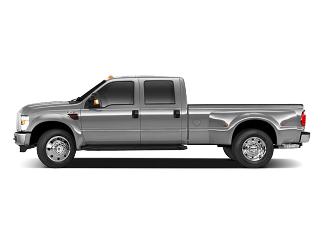 Ingot Silver Metallic 2010 Ford Super Duty F-450 DRW Pictures Super Duty F-450 DRW Crew Cab Lariat 2WD T-Diesel photos side view