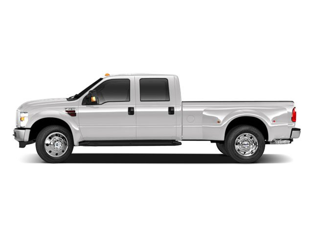 Oxford White 2010 Ford Super Duty F-450 DRW Pictures Super Duty F-450 DRW Crew Cab King Ranch 4WD T-Diesel photos side view