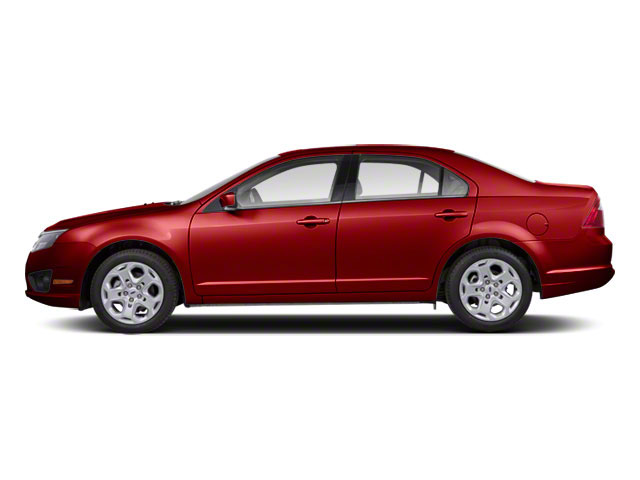 Sangria Red Metallic 2010 Ford Fusion Pictures Fusion Sedan 4D SEL AWD photos side view