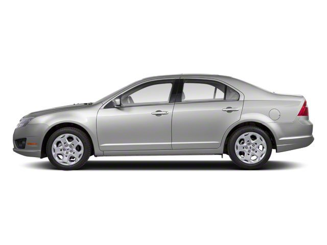 Brilliant Silver Metallic 2010 Ford Fusion Pictures Fusion Sedan 4D SEL AWD photos side view