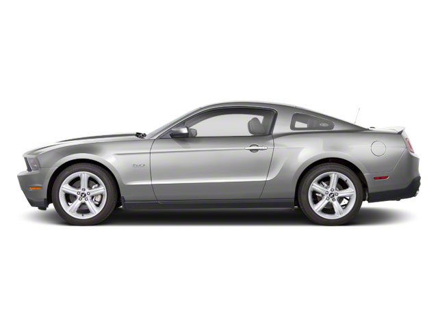 Brilliant Silver Metallic 2010 Ford Mustang Pictures Mustang Coupe 2D photos side view