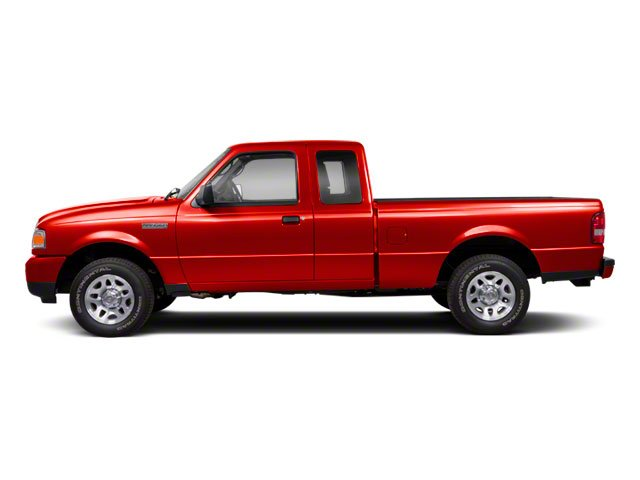 Torch Red 2010 Ford Ranger Pictures Ranger Supercab 2D Sport photos side view