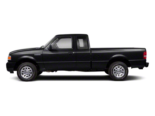 Black 2010 Ford Ranger Pictures Ranger Supercab 2D Sport photos side view