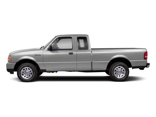 Silver Metallic 2010 Ford Ranger Pictures Ranger Supercab 2D Sport photos side view