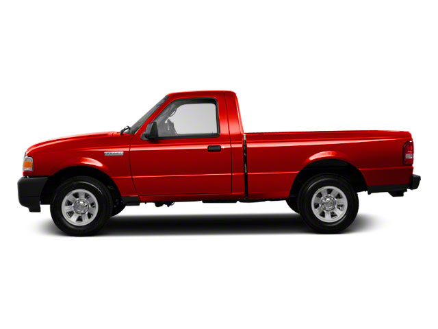 Torch Red 2010 Ford Ranger Pictures Ranger Regular Cab XLT (4 Cyl.) photos side view