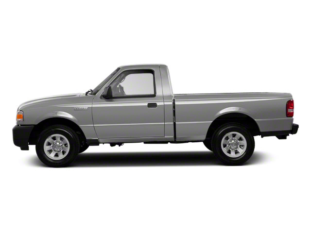 Silver Metallic 2010 Ford Ranger Pictures Ranger Regular Cab XLT (4 Cyl.) photos side view