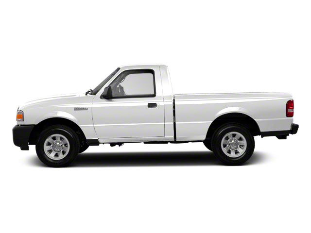 Oxford White 2010 Ford Ranger Pictures Ranger Regular Cab XLT (4 Cyl.) photos side view
