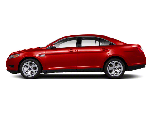 Candy Red Metallic Tinted 2010 Ford Taurus Pictures Taurus Sedan 4D Limited AWD photos side view