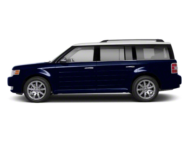 Dark Ink Blue Metallic 2010 Ford Flex Pictures Flex Wagon 4D SEL 2WD photos side view