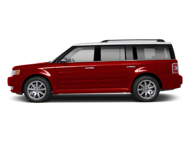 Red Candy Metallic 2010 Ford Flex Pictures Flex Wagon 4D SEL 2WD photos side view