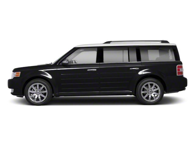 Tuxedo Black 2010 Ford Flex Pictures Flex Wagon 4D SEL 2WD photos side view