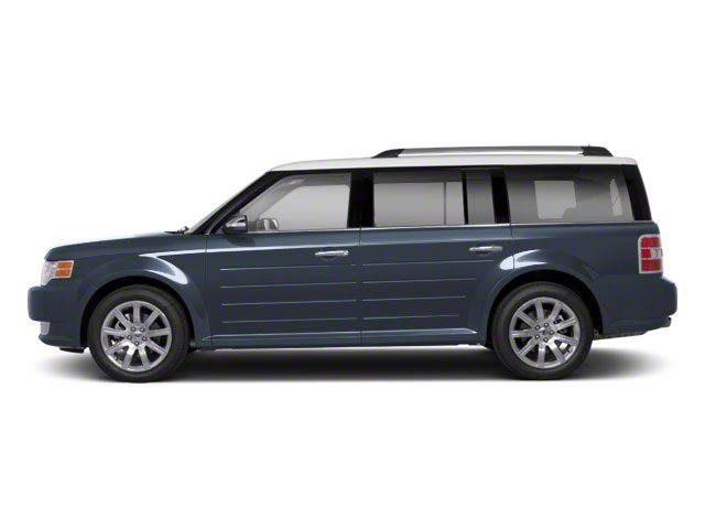 Steel Blue Metallic 2010 Ford Flex Pictures Flex Wagon 4D SEL 2WD photos side view