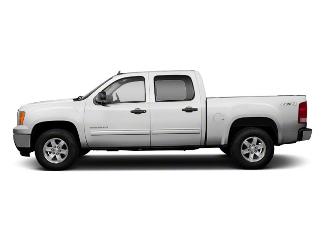 Summit White 2010 GMC Sierra 1500 Pictures Sierra 1500 Crew Cab SL 4WD photos side view