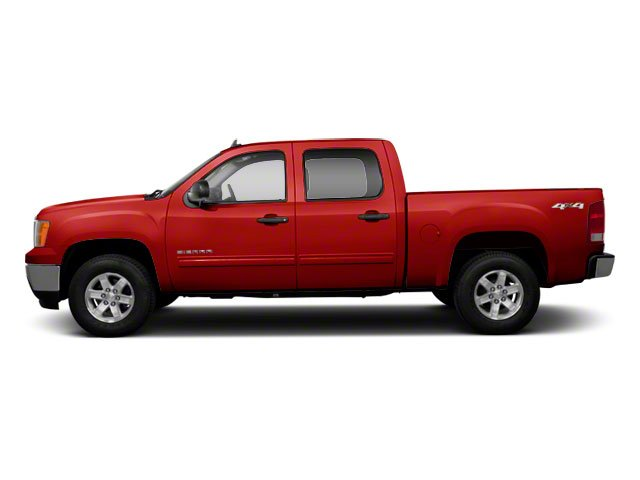 Fire Red 2010 GMC Sierra 1500 Pictures Sierra 1500 Crew Cab SL 4WD photos side view