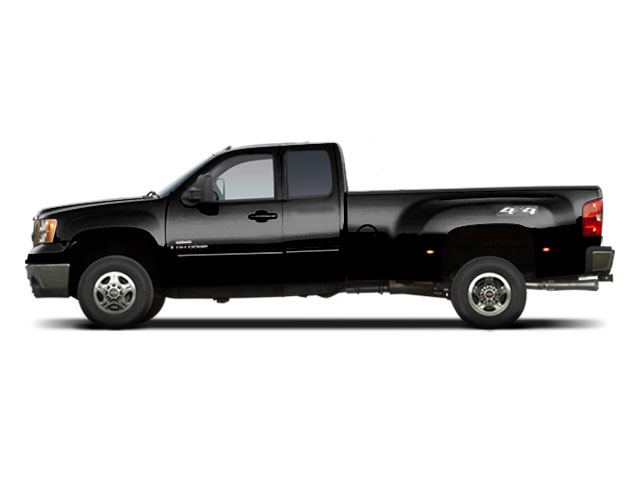 Onyx Black 2010 GMC Sierra 3500HD Pictures Sierra 3500HD Extended Cab SLE 2WD photos side view