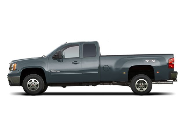 Stealth Gray Metallic 2010 GMC Sierra 3500HD Pictures Sierra 3500HD Extended Cab SLE 2WD photos side view