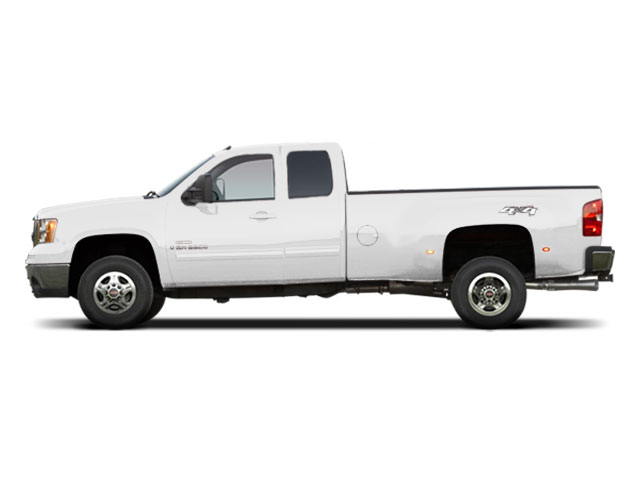 Summit White 2010 GMC Sierra 3500HD Pictures Sierra 3500HD Extended Cab SLE 2WD photos side view