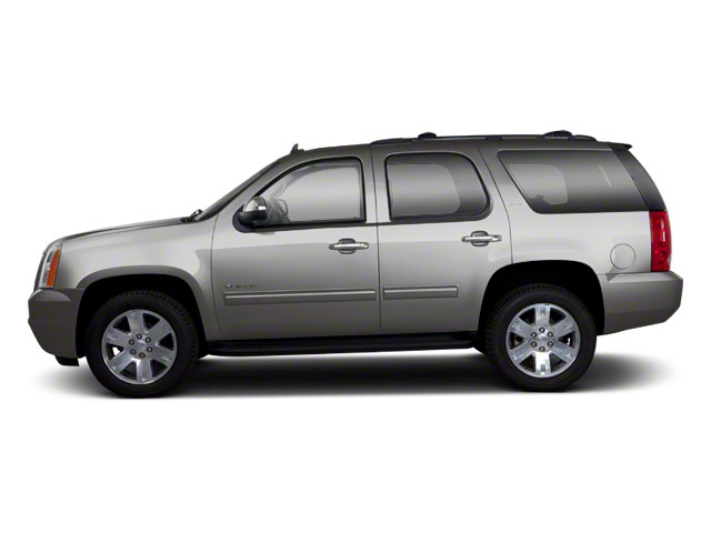 Pure Silver Metallic 2010 GMC Yukon Pictures Yukon Utility 4D SLE 4WD photos side view