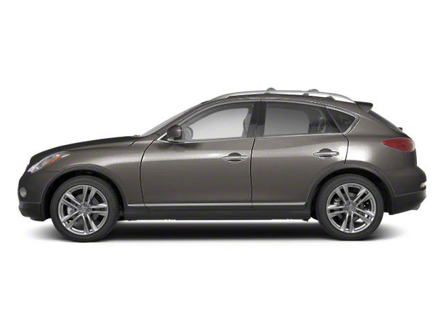 Platinum Graphite Metallic 2010 INFINITI EX35 Pictures EX35 Wagon 4D Journey AWD photos side view