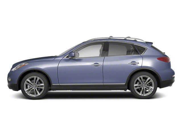 Blue Slate Metallic 2010 INFINITI EX35 Pictures EX35 Wagon 4D Journey AWD photos side view