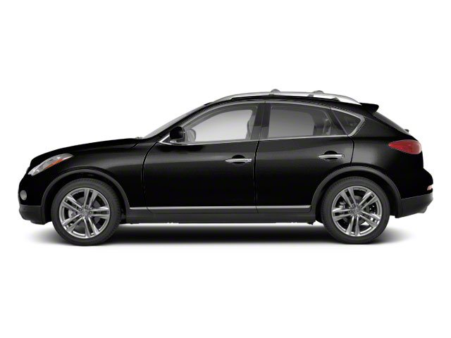 Black Obsidian 2010 INFINITI EX35 Pictures EX35 Wagon 4D Journey AWD photos side view