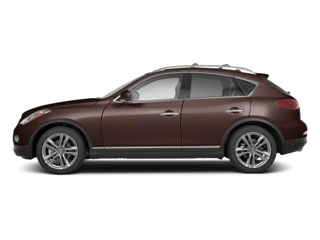 Dark Currant Metallic 2010 INFINITI EX35 Pictures EX35 Wagon 4D Journey AWD photos side view