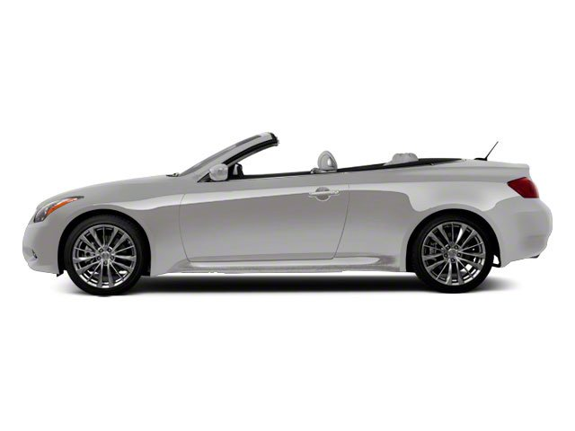 Liquid Platinum 2010 INFINITI G37 Convertible Pictures G37 Convertible Convertible 2D photos side view