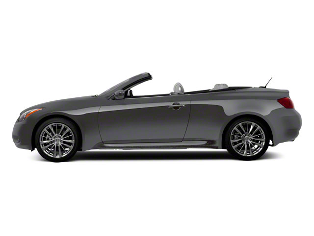 Graphite Shadow 2010 INFINITI G37 Convertible Pictures G37 Convertible Convertible 2D photos side view