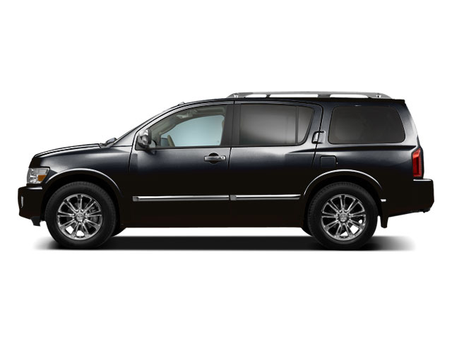 Liquid Onyx Metallic 2010 INFINITI QX56 Pictures QX56 Utility 4D AWD photos side view