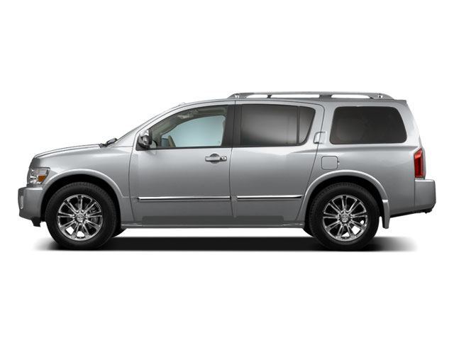 Silver Indulgence Metallic 2010 INFINITI QX56 Pictures QX56 Utility 4D 2WD photos side view