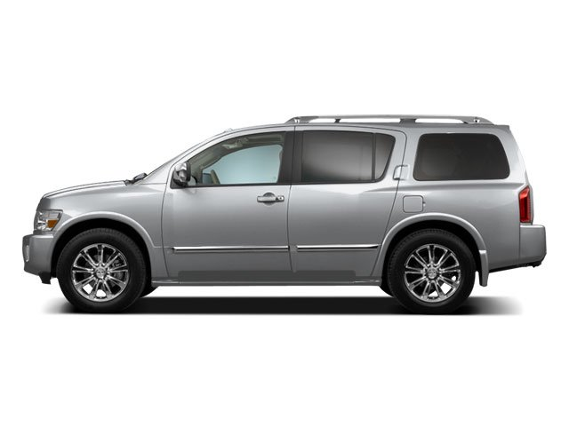 Silver Indulgence Metallic 2010 INFINITI QX56 Pictures QX56 Utility 4D AWD photos side view