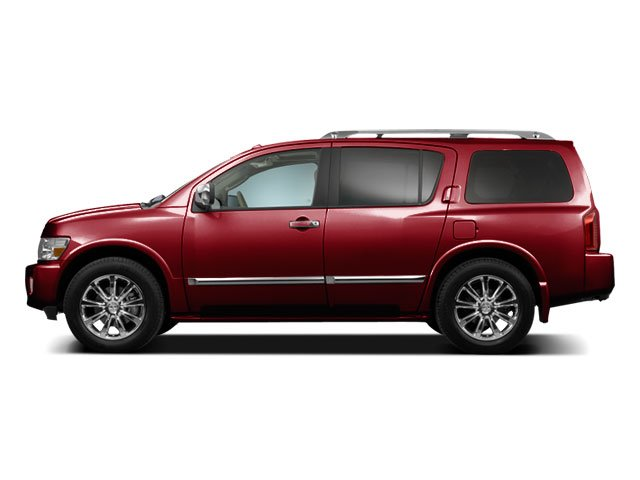 Deep Garnet Metallic 2010 INFINITI QX56 Pictures QX56 Utility 4D 2WD photos side view