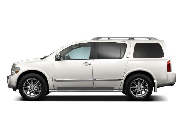 Tuscan Pearl Metallic 2010 INFINITI QX56 Pictures QX56 Utility 4D 2WD photos side view