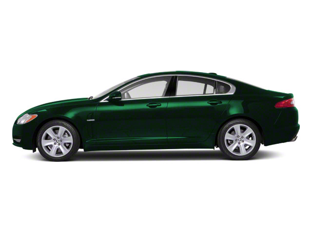 Emerald Fire 2010 Jaguar XF Pictures XF Sedan 4D Supercharged photos side view