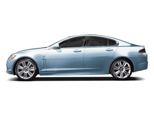 Frost Blue 2010 Jaguar XF Pictures XF Sedan 4D Luxury photos side view