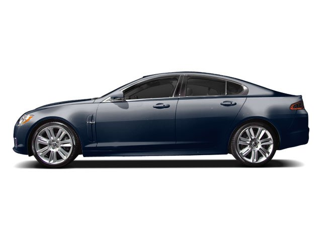 Indigo Blue 2010 Jaguar XF Pictures XF Sedan 4D Luxury photos side view