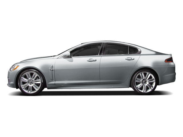 Liquid Silver 2010 Jaguar XF Pictures XF Sedan 4D XFR Supercharged photos side view