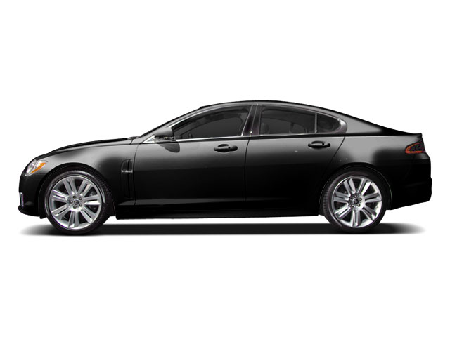 Ultimate Black 2010 Jaguar XF Pictures XF Sedan 4D XFR Supercharged photos side view