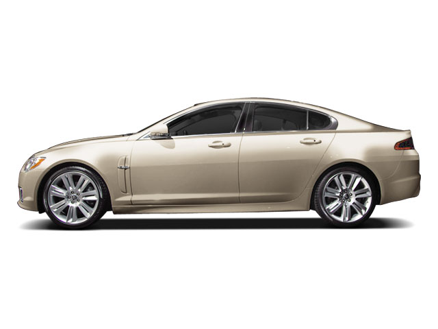 Winter Gold 2010 Jaguar XF Pictures XF Sedan 4D Luxury photos side view