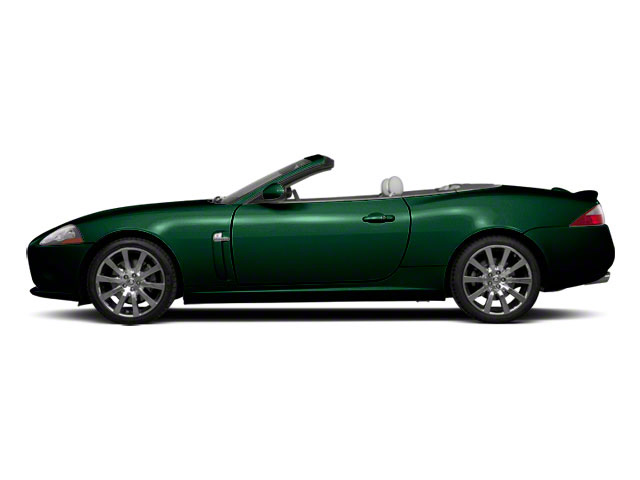 Botanical Green 2010 Jaguar XK Pictures XK Convertible XKR Supercharged photos side view
