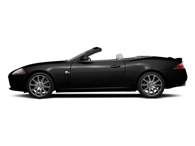 Ultimate Black 2010 Jaguar XK Pictures XK Convertible XKR Supercharged photos side view