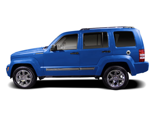 Deep Water Blue Pearl 2010 Jeep Liberty Utility 4D Renegade 4WD Side View