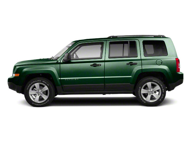 Natural Green Pearl 2010 Jeep Patriot Pictures Patriot Utility 4D Sport 2WD photos side view