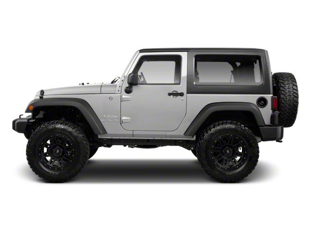 Bright Silver Metallic 2010 Jeep Wrangler Pictures Wrangler Utility 2D Sport 4WD photos side view