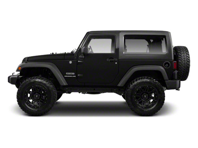 Black 2010 Jeep Wrangler Pictures Wrangler Utility 2D Sport 4WD photos side view