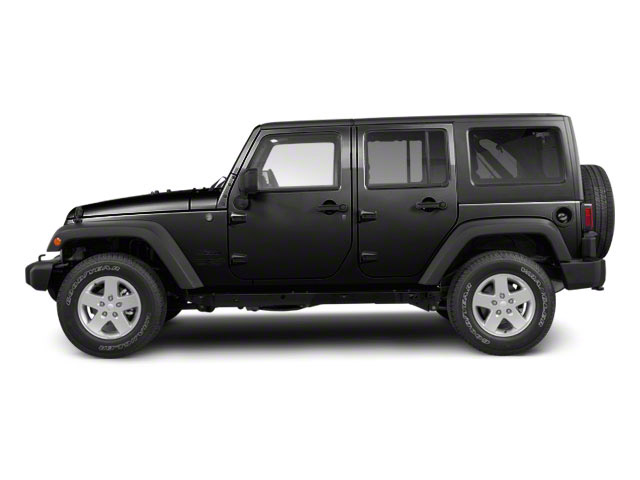 Black 2010 Jeep Wrangler Unlimited Pictures Wrangler Unlimited Utility 4D Unlimited Sport 4WD photos side view