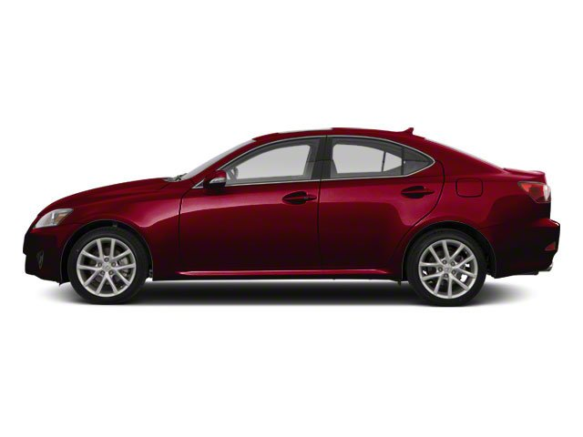 Matador Red Mica 2010 Lexus IS 250 Pictures IS 250 Sedan 4D IS250 photos side view